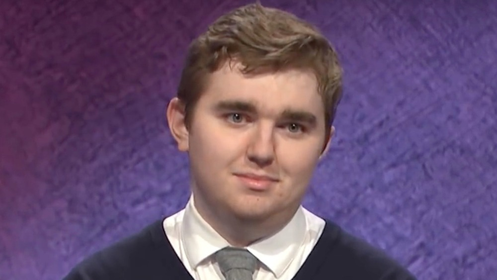 Brayden Smith competing on Jeopardy!