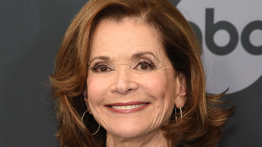 Jessica Walter on the red carpet
