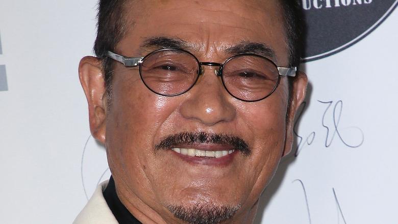 Sonny Chiba smiling