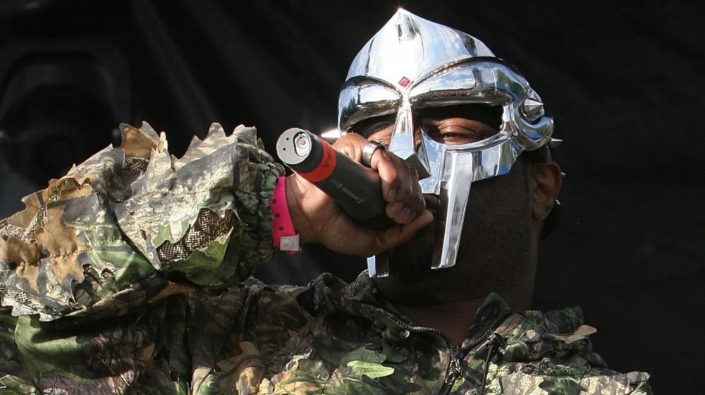 MF Doom performing