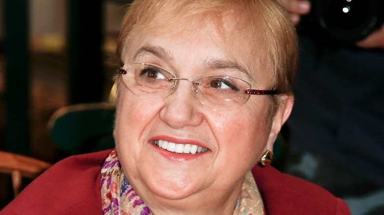 Lidia Bastianich smiling at an event