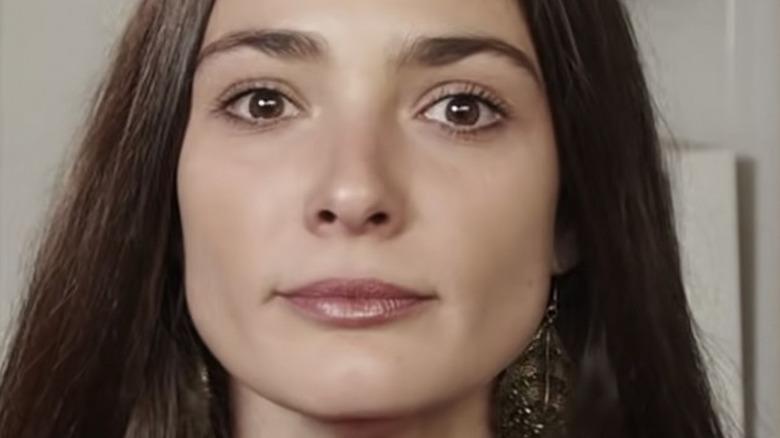 Lorina Kamburova, talking