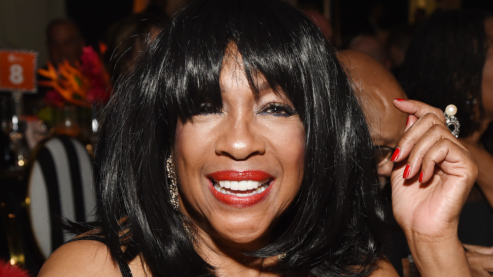 Mary Wilson at Elton John's AIDS Foundation event in February 2020
