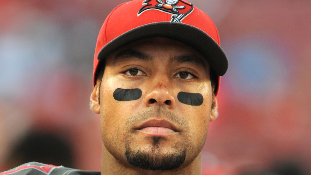 Vincent Jackson plays with the Tampa Bay Buccaneers in Florida 2015