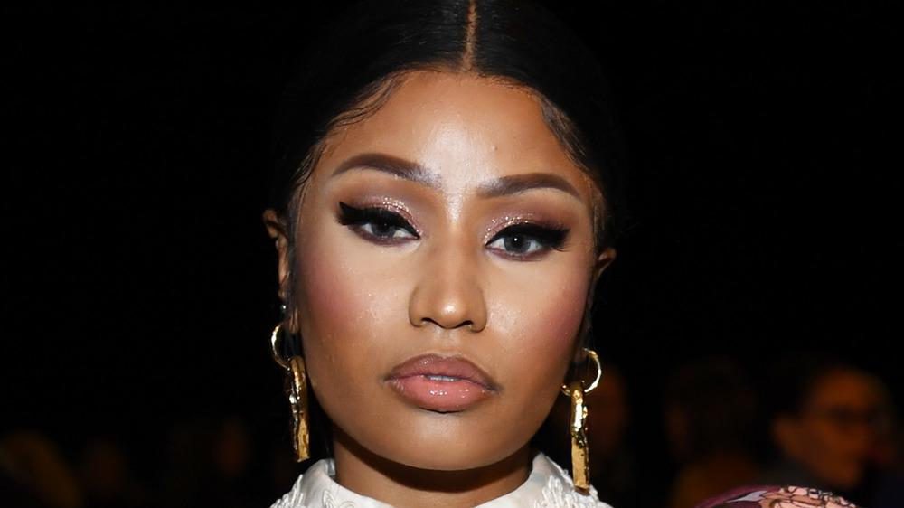 Nicki Minaj closeup