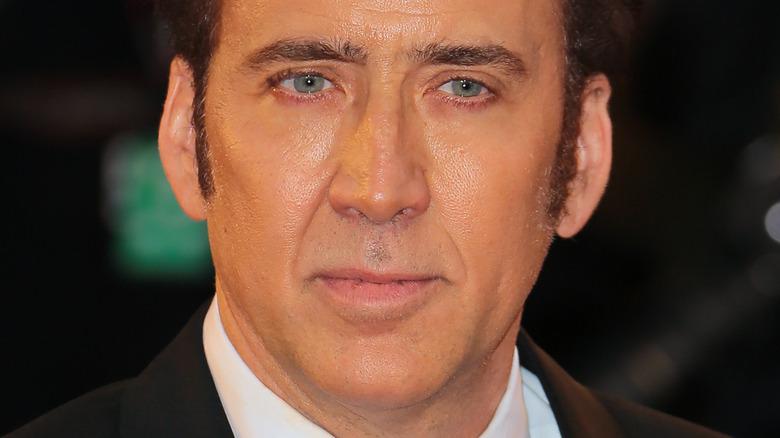 "Nicolas Cage at the premiere of ""Joe"" in 2013"