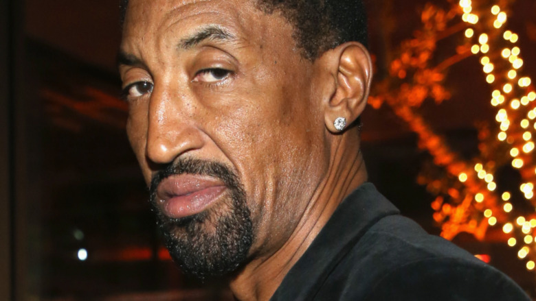 Scottie Pippen at an event