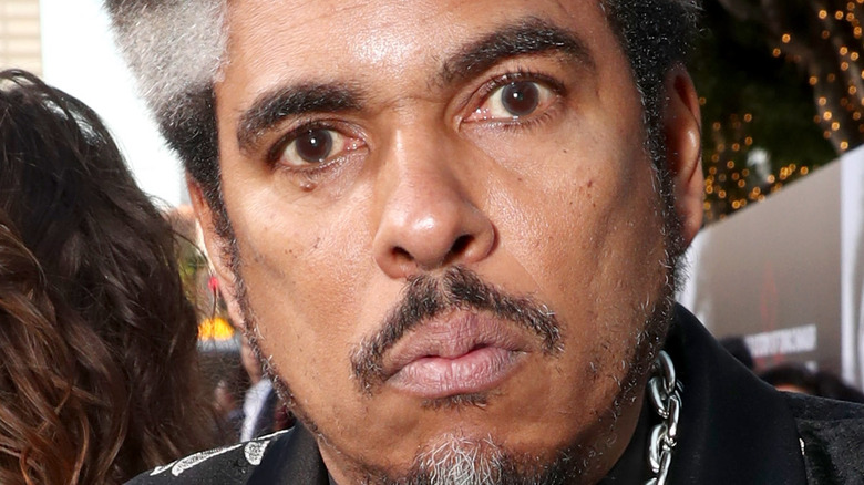 Shock G on the red carpet