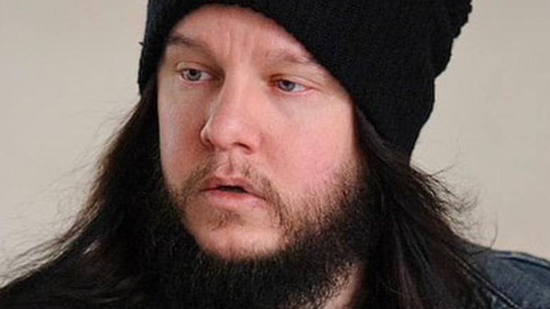 Joey Jordison black cap