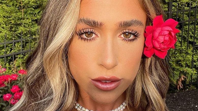 Ariana Biermann takes an Instagram selfie in July 2020