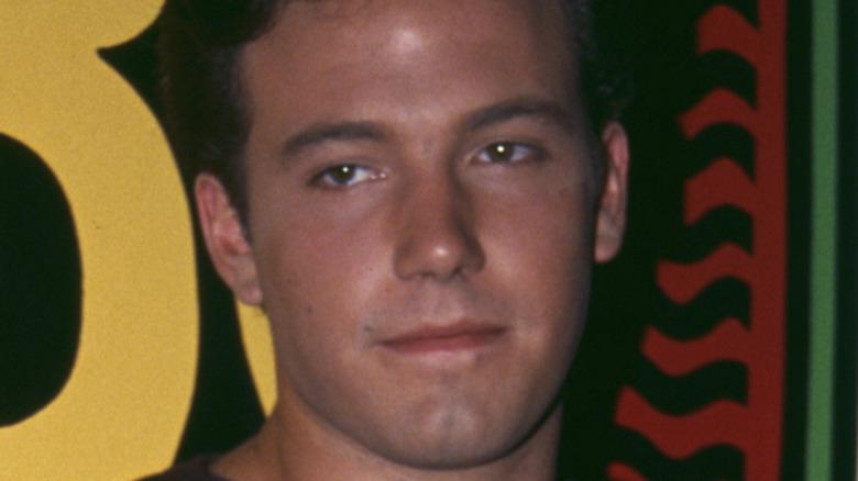 Ben Affleck, no facial hair, 1993 movie premiere