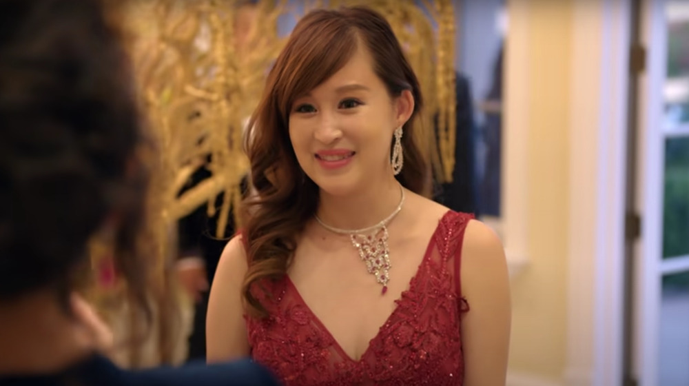 Screenshot of Cherie Chan in the trailer for Bling Empire