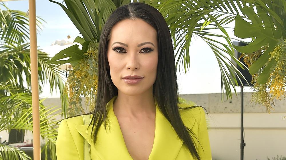 Christine Chiu posing at a luncheon