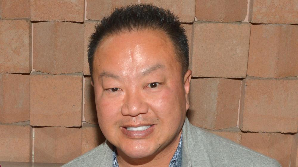 Dr. Gabriel Chiu at an event
