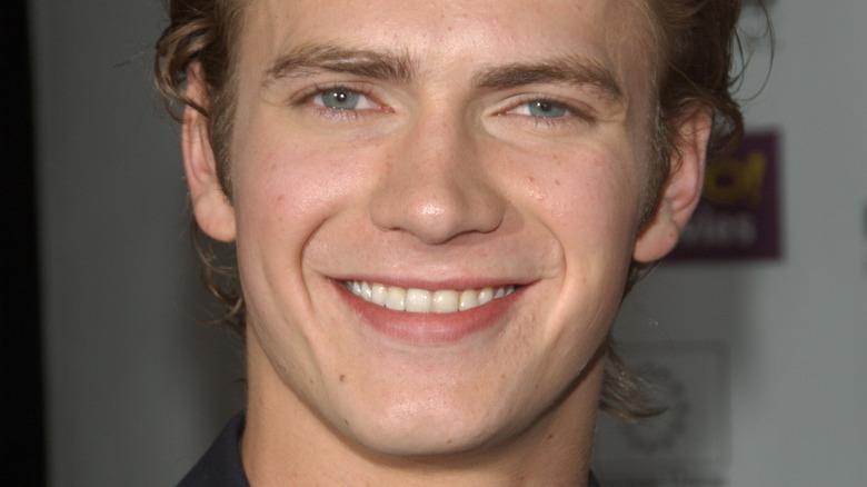 Hayden Christensen, smiling, 2003 photo