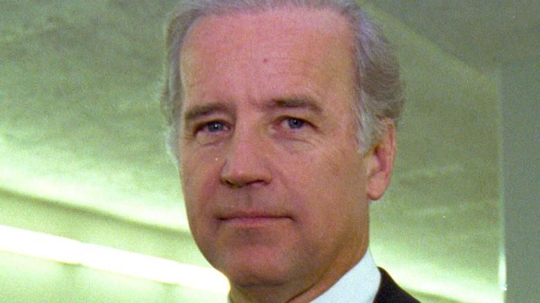 Joe Biden looking at camera