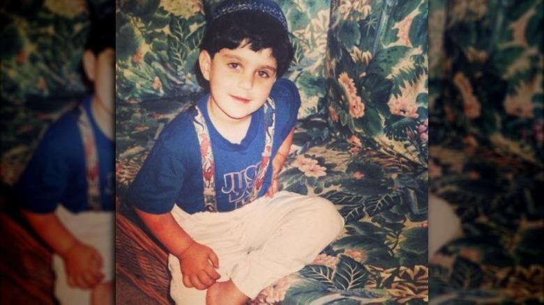 Josh Peck as a child
