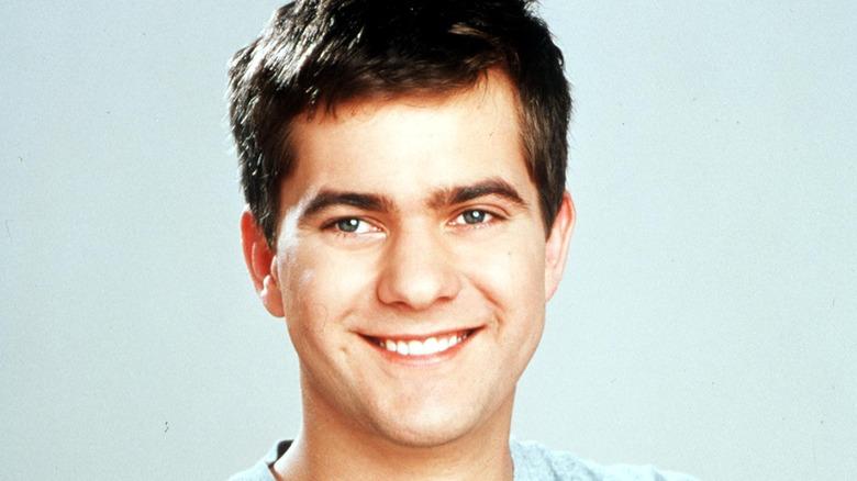 Joshua Jackson smiling