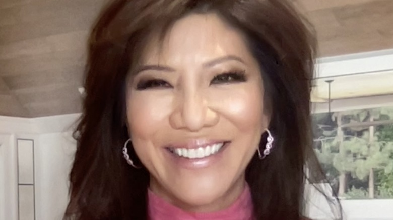 Julie Chen Moonves smiling in March 2021