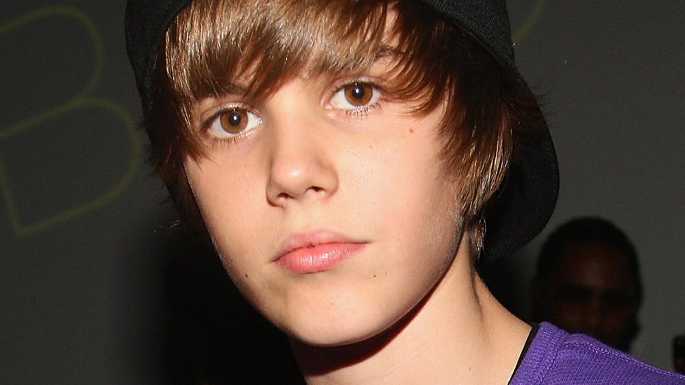 Justin Bieber at an event