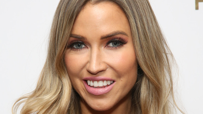 Kaitlyn Bristowe with light pink lipstick