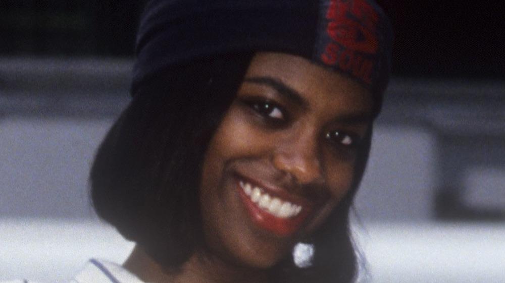 Kandi Burruss smiling