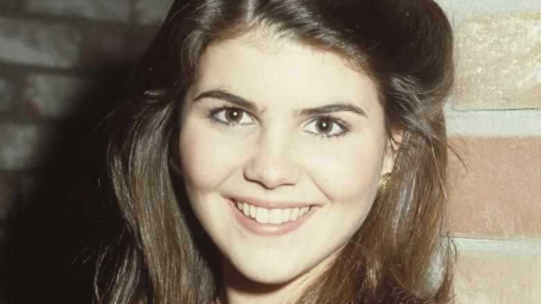 Lori Loughlin smile in 1980