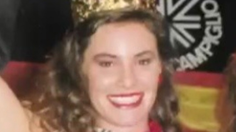 Luann de Lesseps competing in pageant