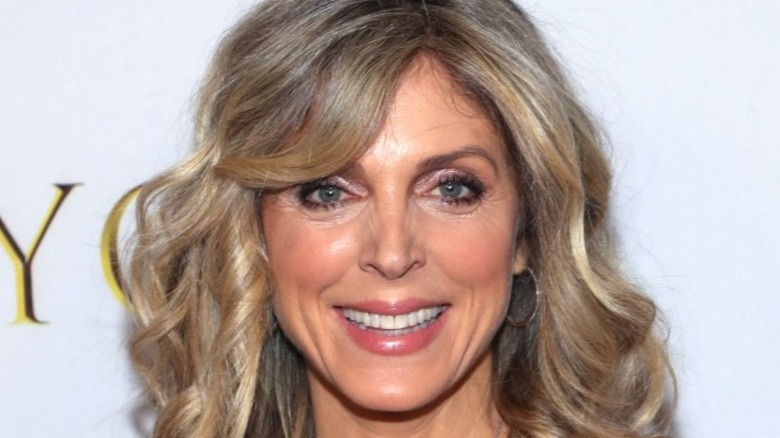 Marla Maples smiling