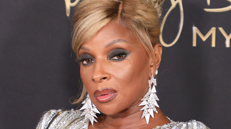 """Mary J. Blige attends the """"Mary J Blige's My Life"""" New York Premiere"""