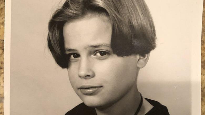 Matthew Gray Gubler as a child