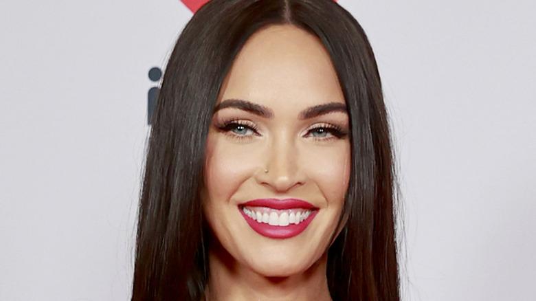 Megan Fox smiling red carpet
