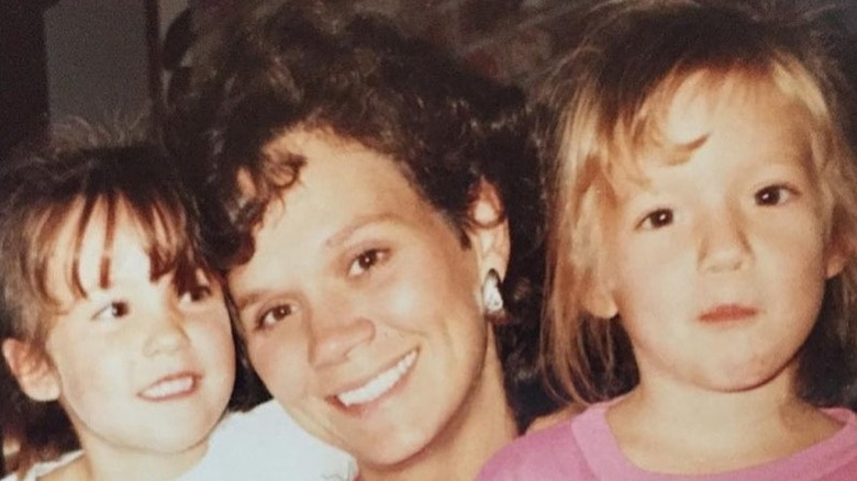 Megan Rapinoe with mom Denise and twin sister Rachael