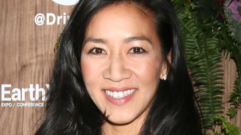 Michelle Kwan smiling