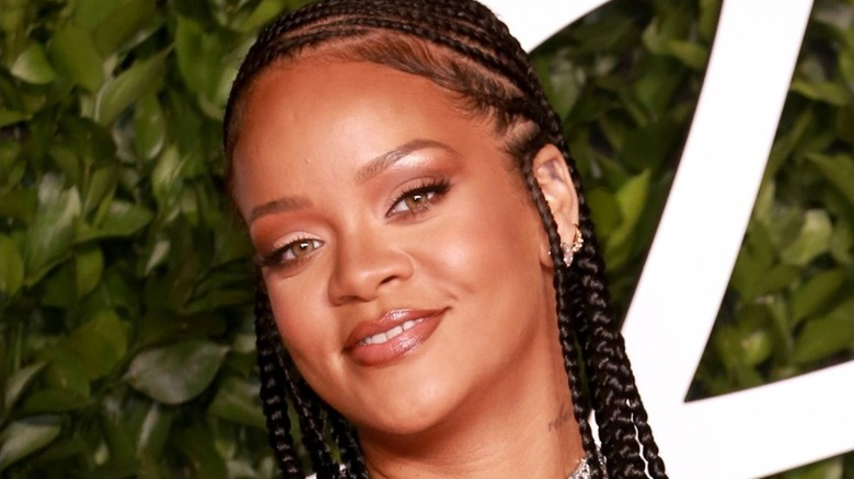 Rihanna smiling