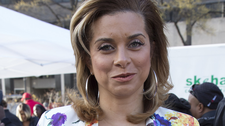 Robyn Dixon attends D.C. Emancipation Day at Freedom Plaza