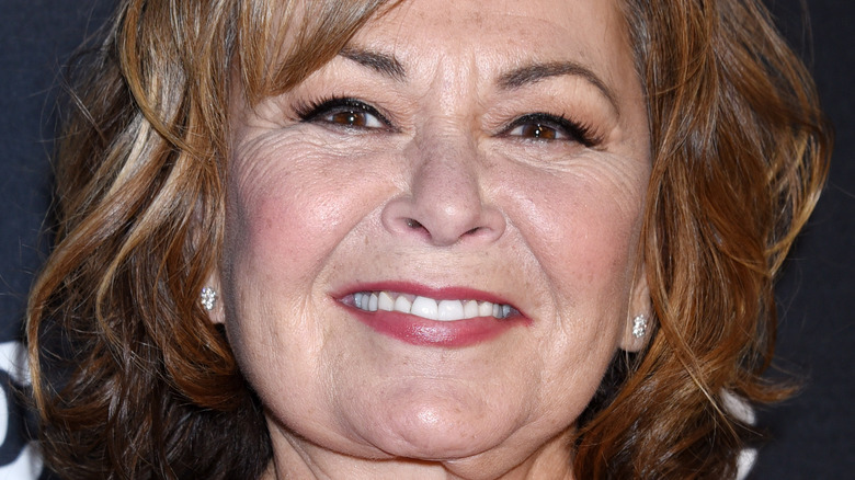"""Roseanne Barr arrives to the """"Roseanne"""" series premiere event in March 2018"""
