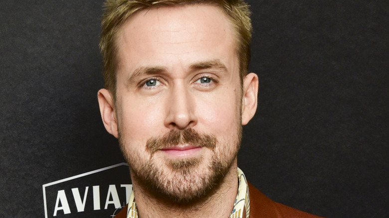 Ryan Gosling posing with a beard