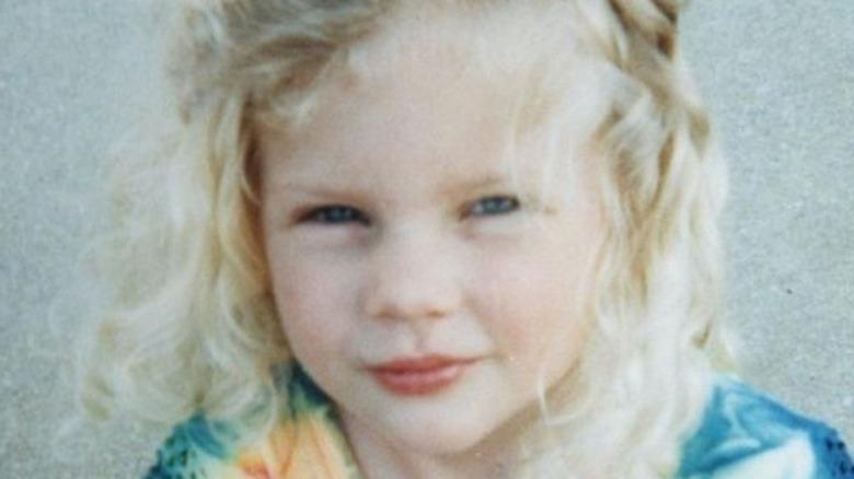 Taylor Swift wearing tie dye