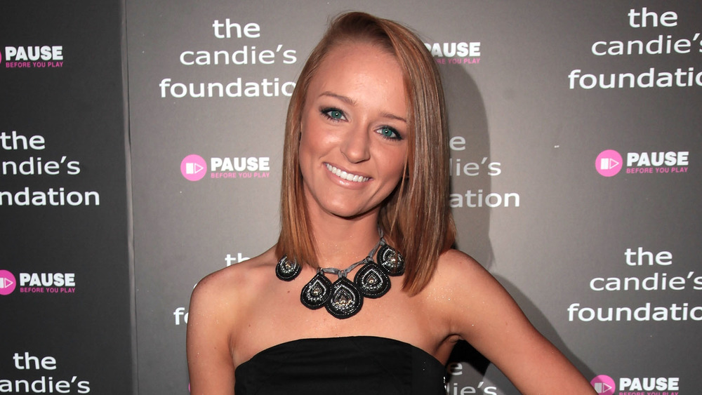 Maci Bookout at an event in 2010