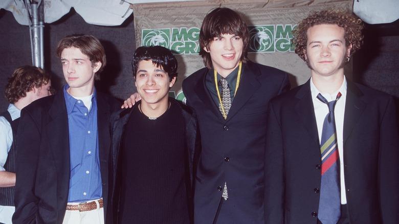 Topher Grace, Wilmer Valderrama, Ashton Kutcher, Danny Masterson, 1998 photo