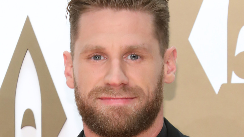 Chase Rice at the CMA Awards in 2019
