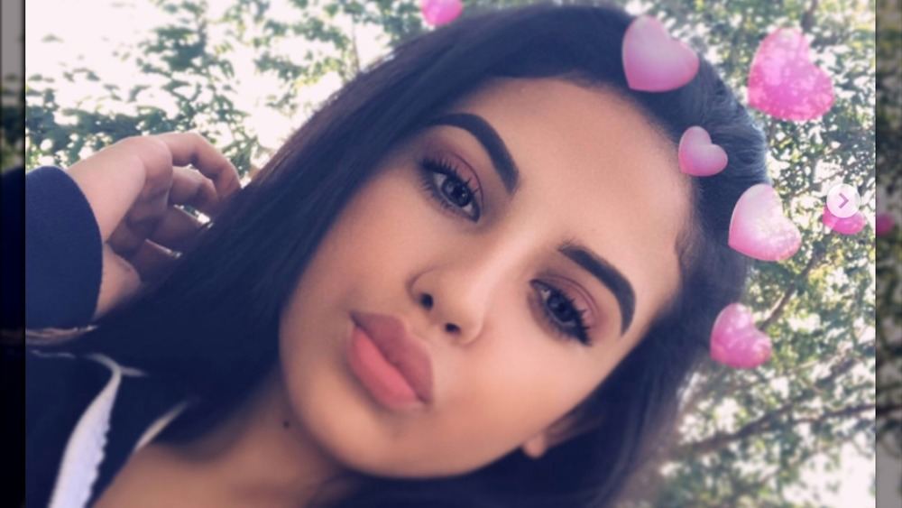 Selena Gutierrez poses for a filtered selfie