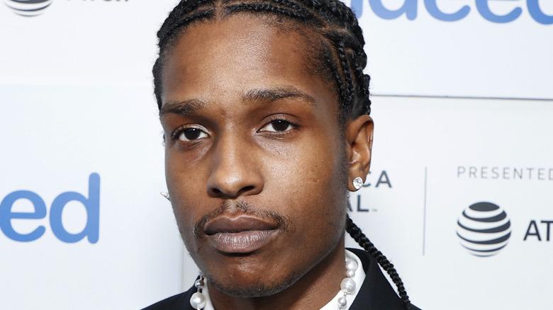 "A$AP Rocky attends 2021 Tribeca Festival Premiere of ""Stockholm Syndrome"""