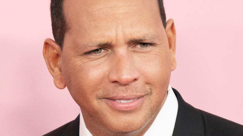 Alex Rodriguez on the red carpet