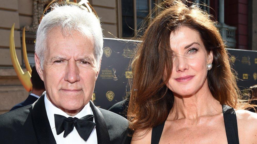 Alex Trebek and his wife Jean Currivan Trebek