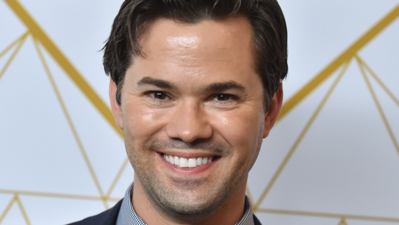 Andrew Rannells on the red carpet