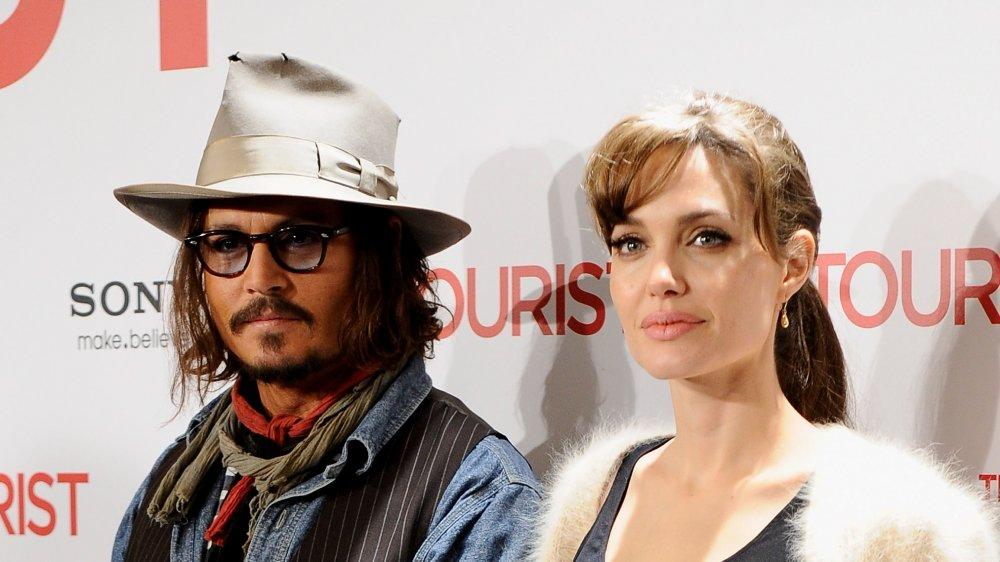 Angelina Jolie & Johnny Depp