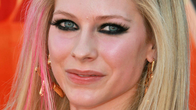 Avril Lavigne on the red carpet
