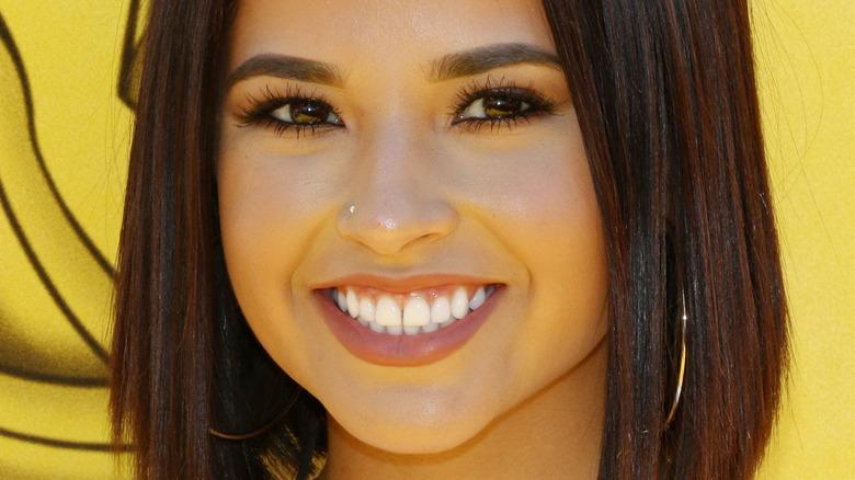 Becky G smiling